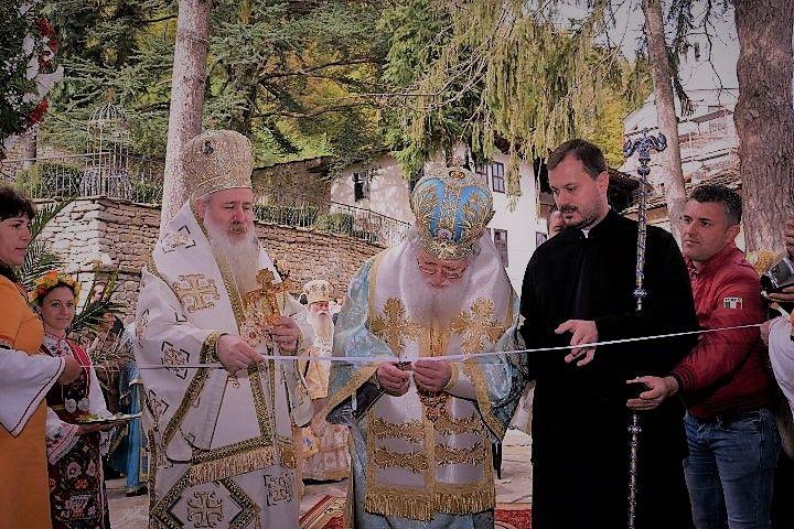 Освещаване на новото патриаршеско крило в Троянската света обител